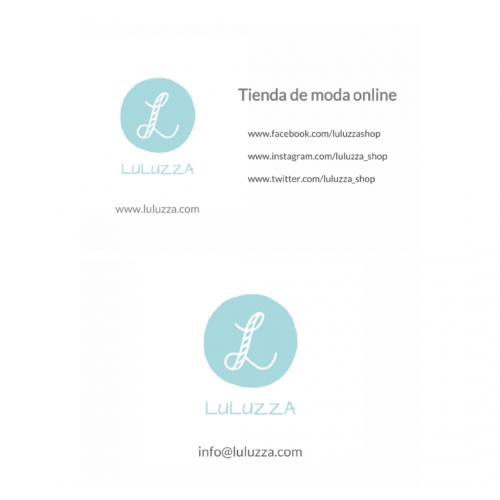 tarjetas de visita para luluzza